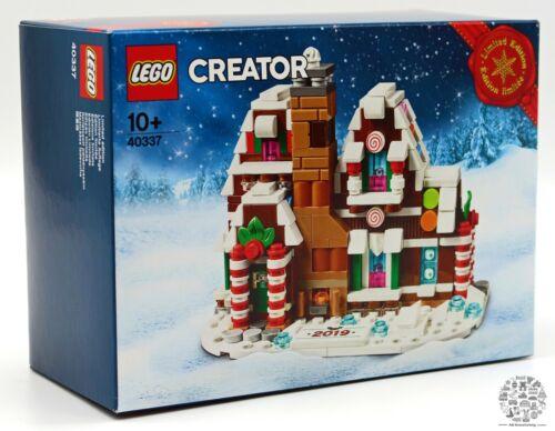 LEGO 40337 Mini case di zucchero Limited Edition 2019 GINGERBREADNuovo Ovp da collezione