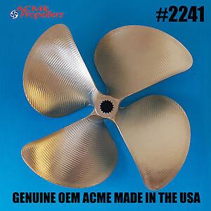 15 x 16 Size Alpha 4 Blade Mercruiser Propeller Aluminium Performance Prop