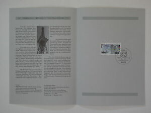 (93j33) Bund Erinnerungsblatt 1993 mit ESST Mi.Nr. 1690 IFA Berlin