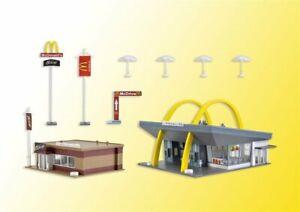 Vollmer 43635 McDonald's rapidement Restaurant Avec McCafé dans h0 Kit NEUF