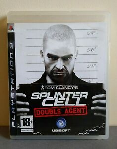 JEU PS3 TOM CLANCY'S SPLINTER CELL DOUBLE AGENT / COMPLET + NOTICE / PAL FR VF