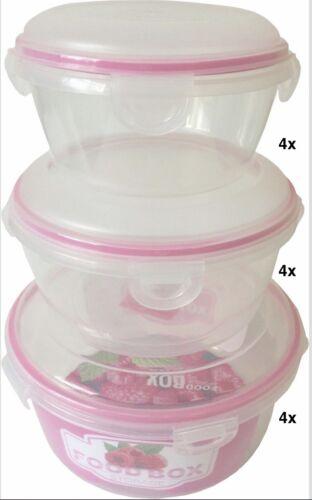 Clip /& Lock Frischhaltedosen Dosenset Vorratsdose Aufbewahrungsset Klar