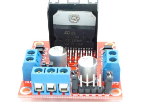L298N Motortreiber Dual H Brücke Motor Driver  Arduino Raspberry Pi