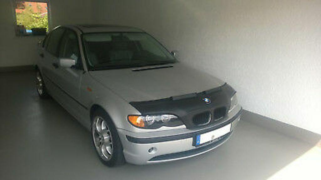 BRA für BMW 3 E46 Bj 98-05 Carbon Optik Steinschlagschutz Haubenbra Tuning