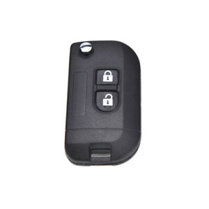 2-Button-Flip-Folding-Remote-Key-Case-Shell-Nissan-MICRA-NOTE-NAVARA-Qashqai-3C