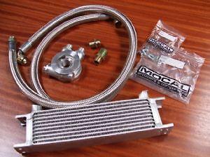 Renault-5-Gt-Turbo-Nuevo-Mocal-Refrigerador-De-Aceite-Kit-10-fila-de-las-mangueras-de-Acero