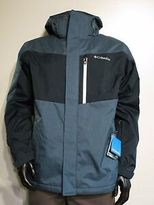 NWT Mens S-M-L-XL-XXL Columbia Convert Insulated Ski Hooded