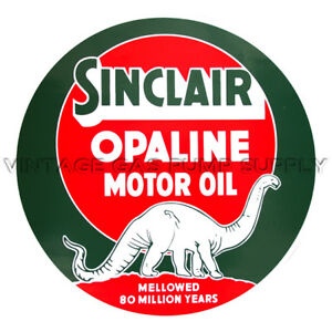 "Sinclair Opaline Motor Oil 9"" Vinyl Decal (DC407E)"