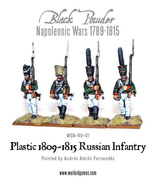 1809-1814 WGN-302012201 WARLORD GAMES Entièrement neuf dans sa boîte napoléoniennes russe infanterie de ligne