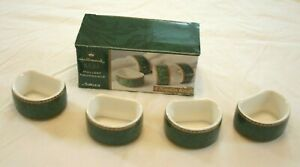 Hallmark-by-Sakura-Holiday-Abundance-4-Napkin-Rings-Green-New-in-Box