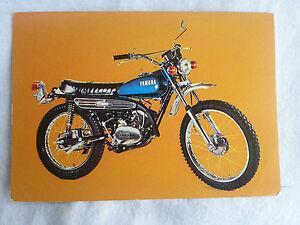 CPA-Carte-postale-Moto-Pilote-Yamaha-125cc-AT2-lot-1