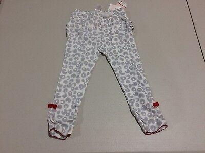 Gymboree Cozy Kitty12-18-24 mo Animal Print Leggings Gray White Holiday 13