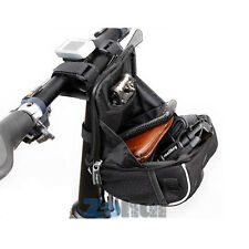 Bicycle Bike Cycling Front Frame Basket Handlebar Pouch Bag+Rain Cover NEW B24