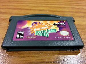 Nicktoons-Freeze-Frame-Frenzy-Nintendo-Game-Boy-Advance-GBA-2004