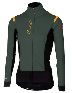 c76f82fe2 Castelli Cycling Women Alpha RoS W Jacket FOREST GRAY BLACK Small S ...