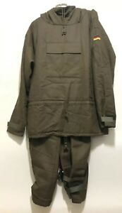 W German Military Pullover Coat W/Hood & Pants Marquardt