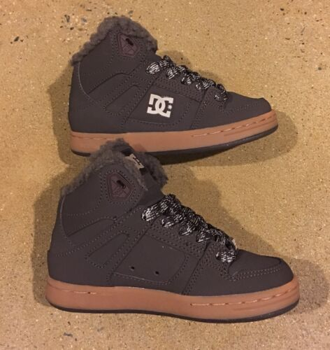 DC Rebound WNT Kids Size 3 US Youth Brown Gum BMX Skate Shoes Sneakers