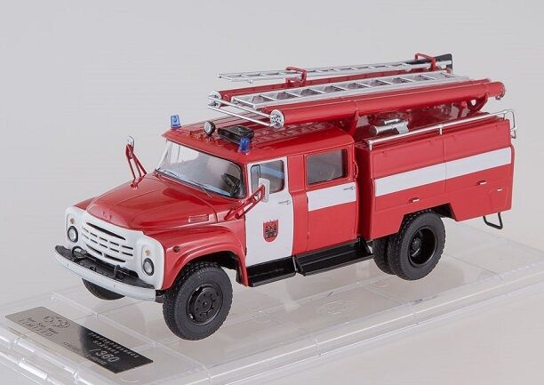 Start Scale Models Models Models (SSM) 1 43. Fire Engine AC-40 (ZIL-130) Tartu, Estonia. a87a69