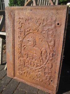 """Antike Originale Vor 1945 Antike Gussplatte """"westfälisches Pferd"""" Antiquitäten & Kunst"""