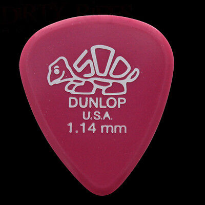 1 2 3 4 5 6 10 12 20 24 Dunlop Delrin Guitar Picks Plectrums 2.00mm Purple