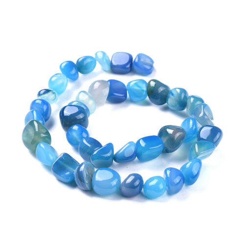 5 Strd Natural Agate Nuggets Beads Tumbled Stone Smooth Mini Loose Spacer 3~15mm