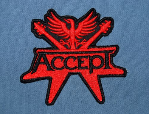 ACCEPT Patch Toppa Logo OFFICIAL MERCHANDISE
