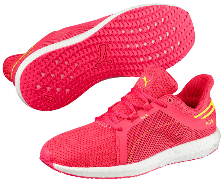 Puma Mega Baskets women shoes de Course 190944 004 pink Citron Neuf