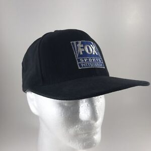 Details about Fox Sports Network Pittsburgh Home Team Attitude Black Baseball  Cap SnapBack Hat 847468840