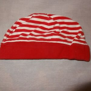 37477f4a661 Hat Red White Christmas Baby Boy Girl Infant Skull Cap Size 3 to 6 ...