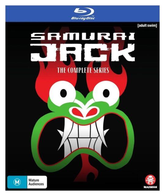 Samurai Jack The Complete Series  1 - 5 - Blu Ray - New Sealed - Region B