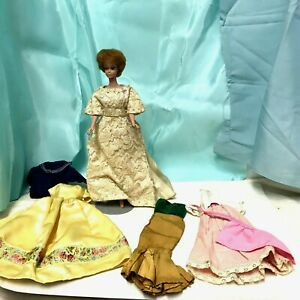 Vintage Barbie Clothes 1960s Seamstress Or Mommy Made Wardrobe Lovely Ebay