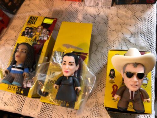 Kill Bill collection Titans Vinyl Figure Vernice Green McGraw et Sophia fatale