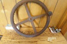 Original Case L La Dc Tractor Cast Steel Steering Wheel La Dc L Case