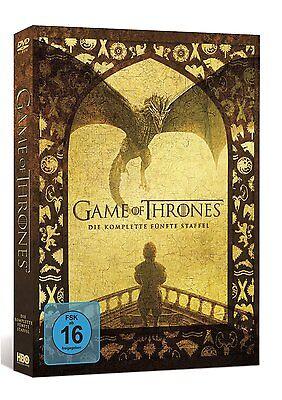 game of thrones staffel 5 deutsch dvd