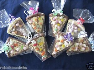 Image Is Loading Chocolate Pizza Slice Stocking Filler Party Bag