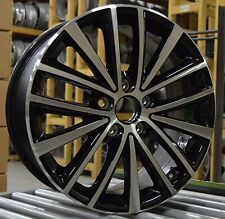 "17"" Volkswagen Jetta 11 12 13 14 15 16 Factory OEM Rim Wheel 69910 69985 Black"
