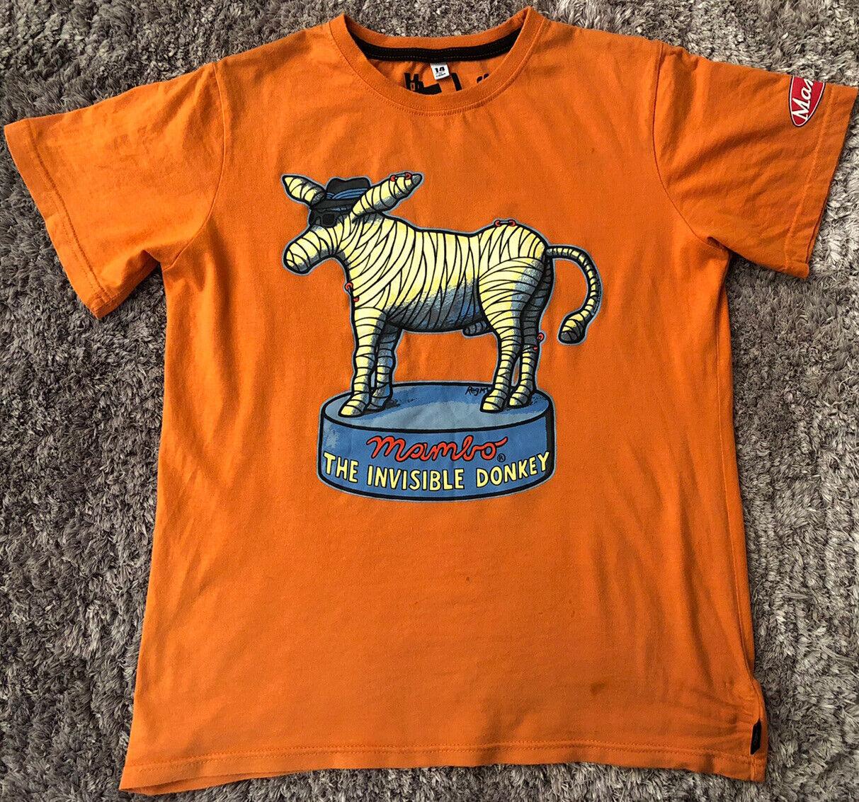 087 Authentic Mambo The Invisible Donkey Reg Mombassa 1 T Shirt Kids 14