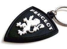 PEUGEOT key ring Vintage keychain LION logo Porte cle PVC portachiavi
