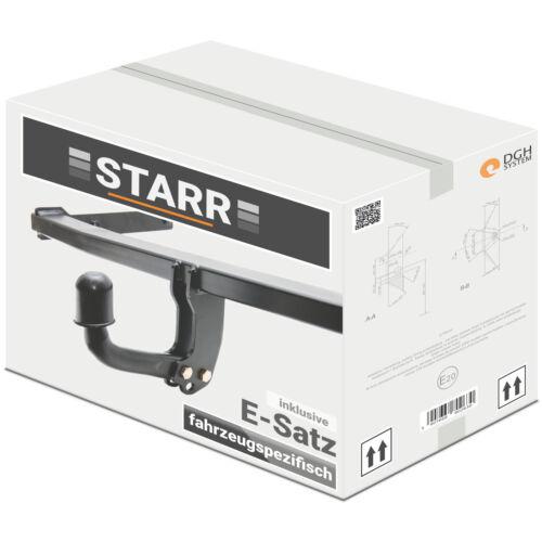 Per OPEL MERIVA B ab10 gancio di traino Starr e-specifico per set di 7 PIN