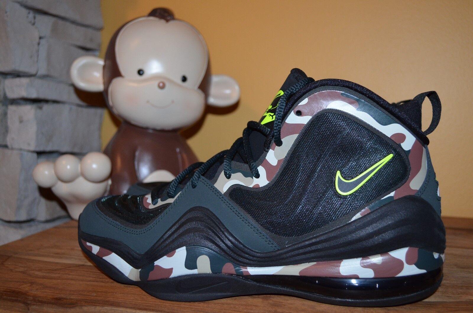 NEW NIKE AIR PENNY V 5 CAMO 10 Shoes Mismate 10.5 Left 10 CAMO Right 628569-307 Hardaway f6928a