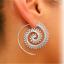 Ohrringe Ohrstecker Ohrschmuck Ohrhänger Creolen Boho Piercing Ohrklemme Spirale