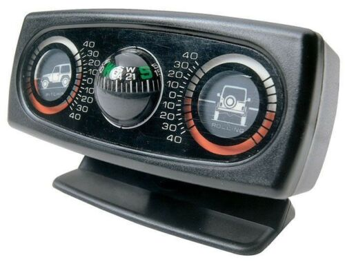 Roll Pitch Incline Meter Compass For Jeep Cj Yj Tj Jk Wrangler 1976-20 13309.01
