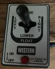 Westernfisher Joystick Controller Snow Plow 56369 Uni Mount Ultra 8292