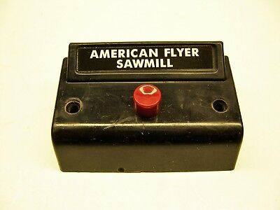 Relettered 1 Button Controller for American Flyer Crossing Gate