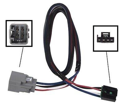 Gladiator CURT 51527 Quick Plug Electric Trailer Brake Controller Wiring Harness Select Jeep Wrangler JL