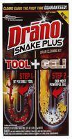 Drano Snake Plus, Tool + Gel (pack Of 6)