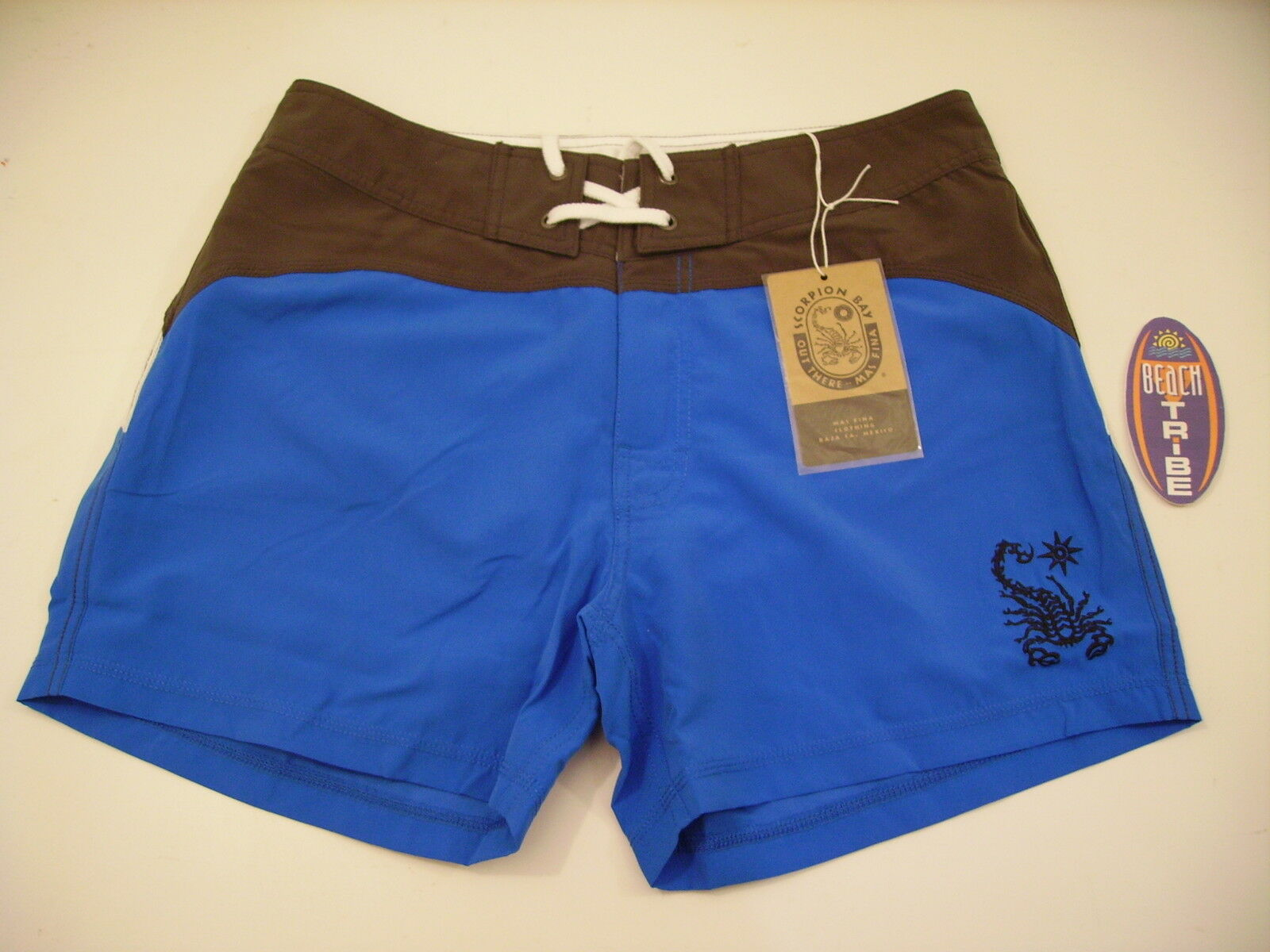 SCORPION BAY BOARDSHORT SHORTS SEA COSTUME MBS2701 ROYAL blueE GREY 36