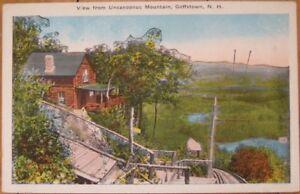 Details about 1920 PC: Uncanoonuc Mountain - Goffstown, New Hampshire