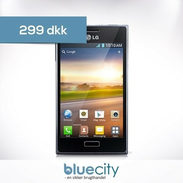 LG LG Optimus L5 4GB (E610) Sort, LG Optimus L5 4GB (E610)