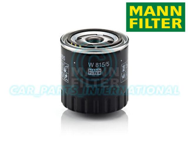 Mann Hummel Repuesto de Calidad OE Filtro de Aceite Del Motor W 815/5